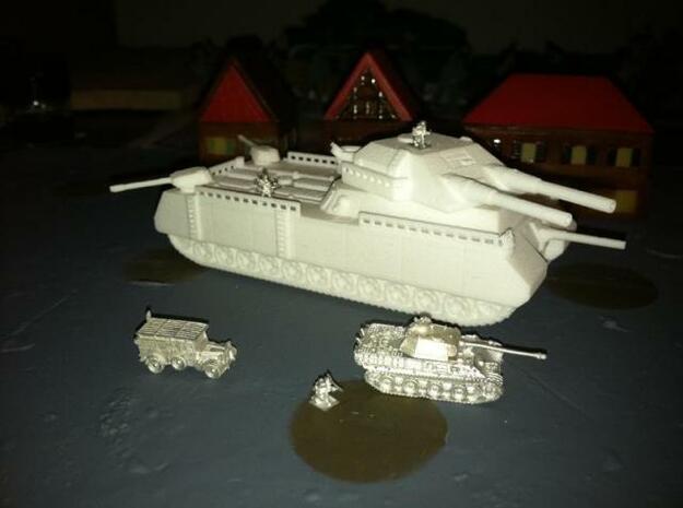 Tank- P-1000 Ratte Landkreuzer (1/285th) 3d printed