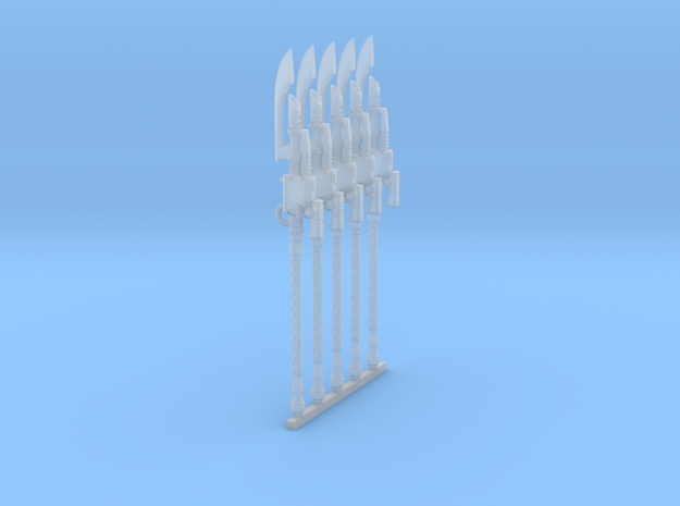 Guardian Spear (x5) in Smooth Fine Detail Plastic