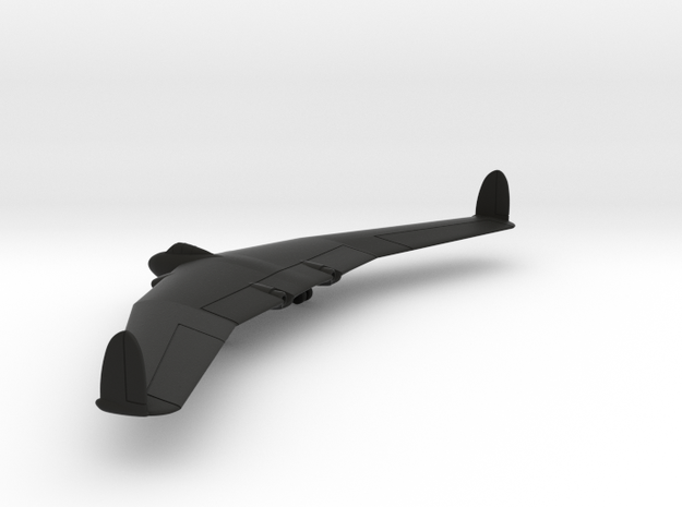 Armstrong Whitworth A.W.52 in Black Natural Versatile Plastic: 1:200