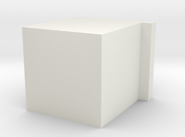 Blocky Sink in White Strong & Flexible
