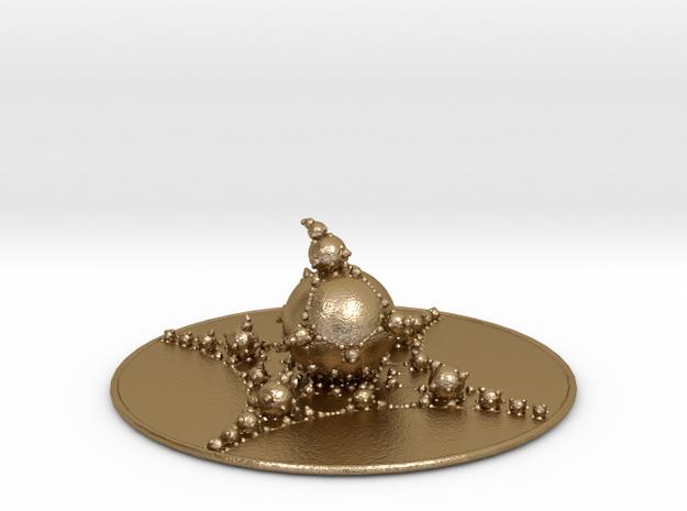 Jk Bulb in Polished Gold Steel