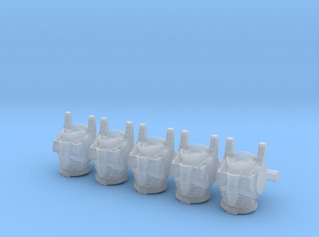 Decepticon Seeker Torsos MK2 001a in Smooth Fine Detail Plastic