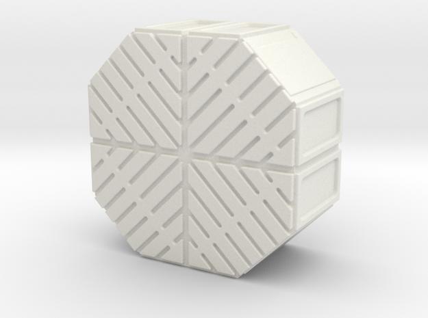 1:18 FALCON YT1300 ANH CARGO BOX MODEL E in White Strong & Flexible