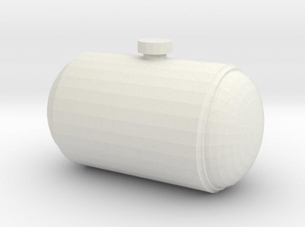 1/10 drag car Gasser Tank  in White Natural Versatile Plastic