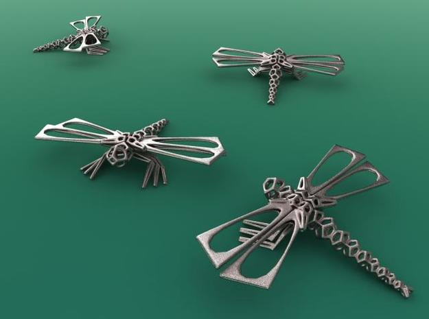 DragonFly 3d printed Stainless Steel render
