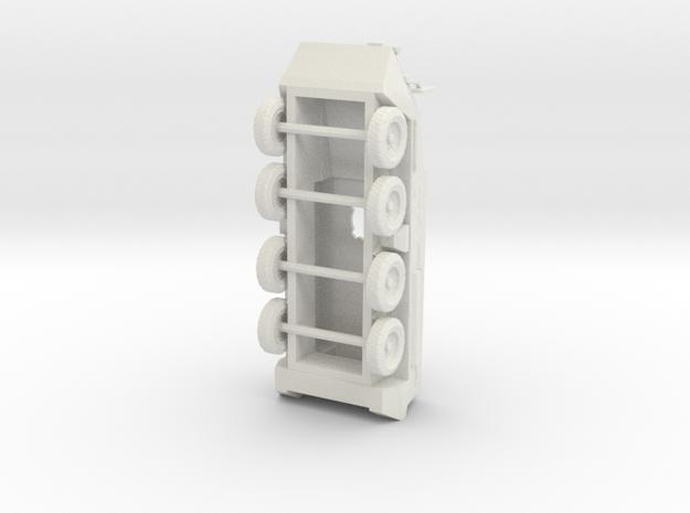 Miniature Stryker - Body  in White Natural Versatile Plastic: 1:72