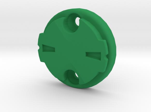 Garmin Varia Plate 0deg in Green Processed Versatile Plastic