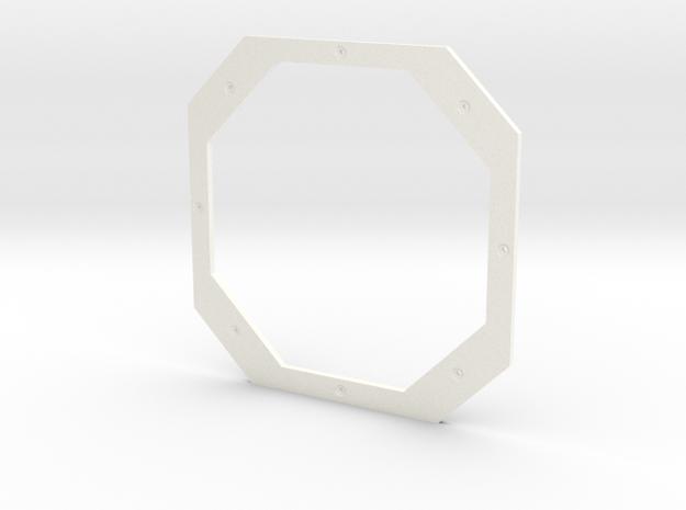 Apollo LM FDAI 8 Ball Faceplate Only in White Processed Versatile Plastic