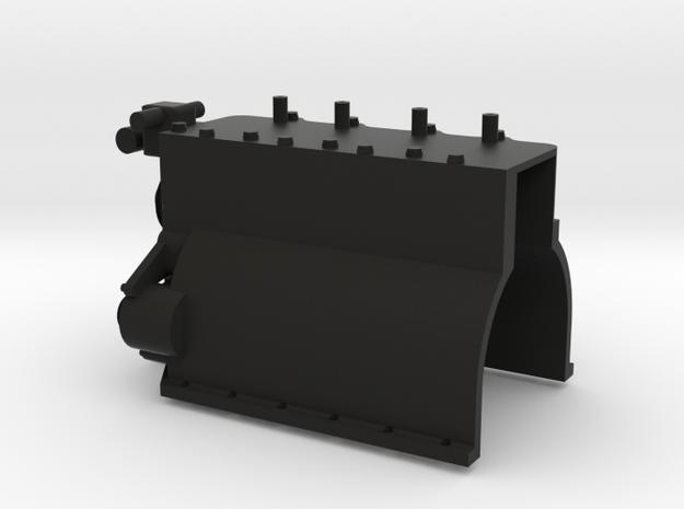 1/10 Defender TDI Engine Block in Black Natural Versatile Plastic