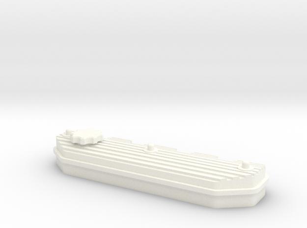 1/10 Defender TDI Valve Cover in White Processed Versatile Plastic