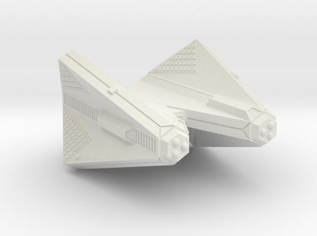 3125 Scale Tholian Command Cruiser (CC) SRZ in White Natural Versatile Plastic
