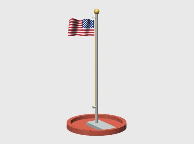 Flag Pole Assembly