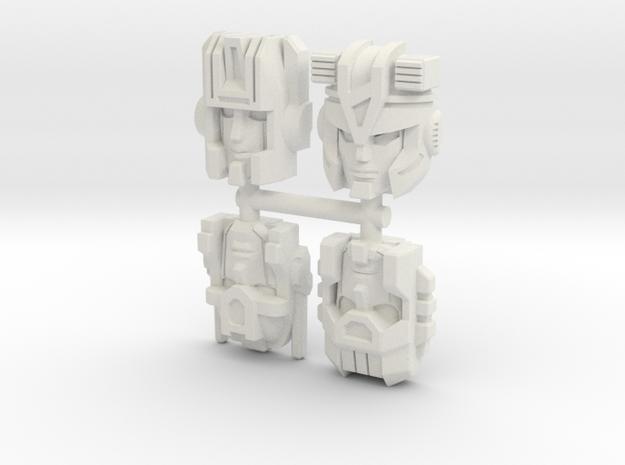 Prime Master Pretenders Set 1 in White Natural Versatile Plastic