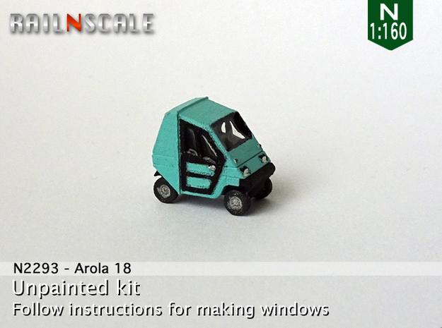 Arola 18 (N 1:160) in Frosted Ultra Detail