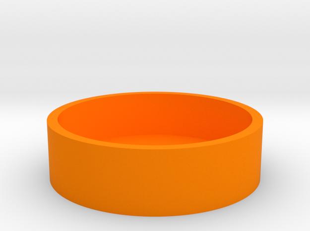 O-Korto Box Base USA Dollar in Orange Processed Versatile Plastic