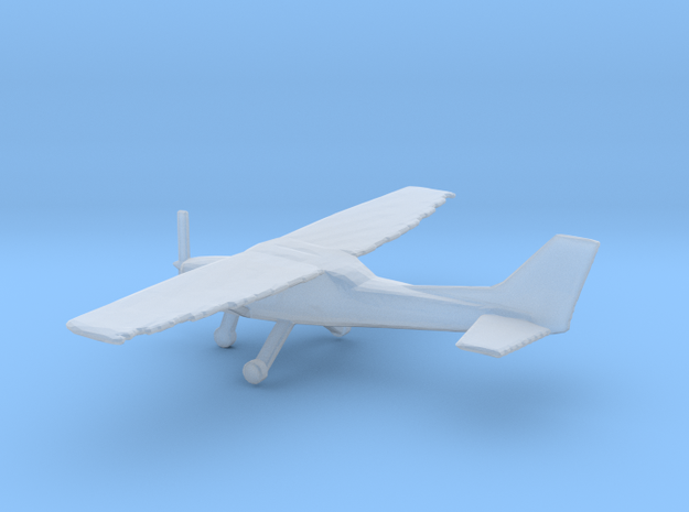 1:200 Cessna C172 Wheeled Version in Smooth Fine Detail Plastic