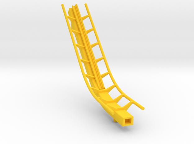 roller coaster lift in Yellow Processed Versatile Plastic