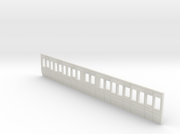 GWR Carriage side 40ft d2 4mm scale