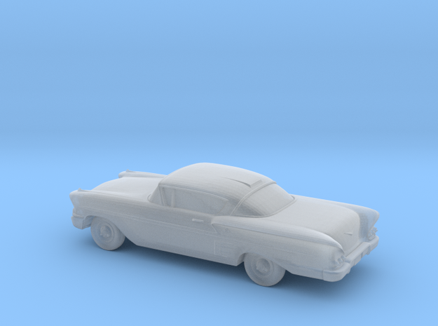 1/120 1X 1958 Chevrolet Impala Coupe in Frosted Ultra Detail