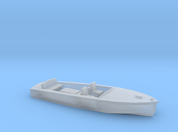 Classic RUNABOUT N Scale Boat in Smooth Fine Detail Plastic