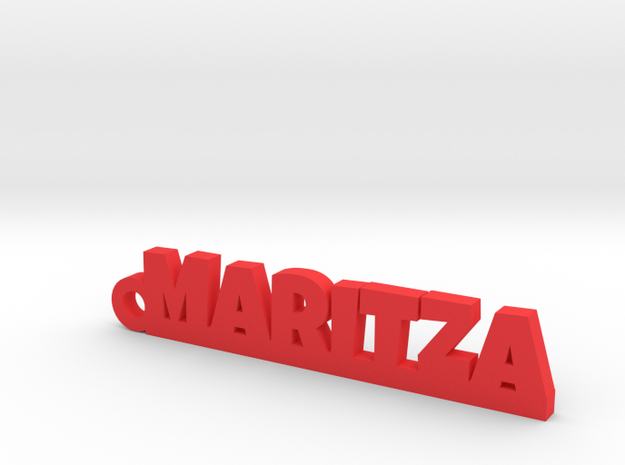 MARITZA_keychain_Lucky in Red Processed Versatile Plastic