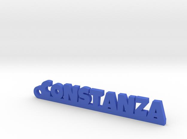 CONSTANZA_keychain_Lucky in Blue Processed Versatile Plastic
