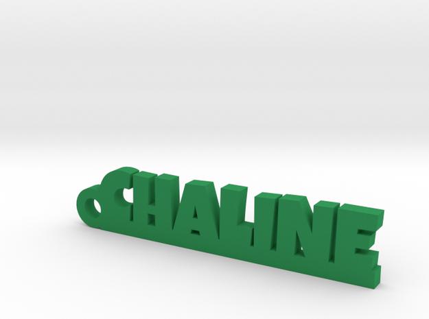 CHALINE_keychain_Lucky in Green Processed Versatile Plastic
