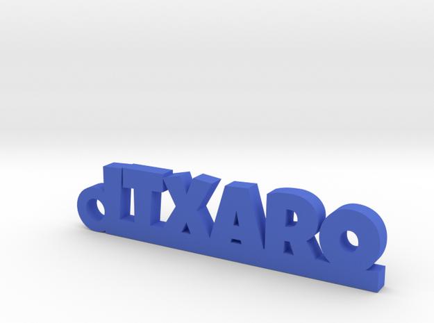 ITXARO_keychain_Lucky in Blue Processed Versatile Plastic