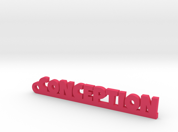 CONCEPTION_keychain_Lucky in Pink Processed Versatile Plastic
