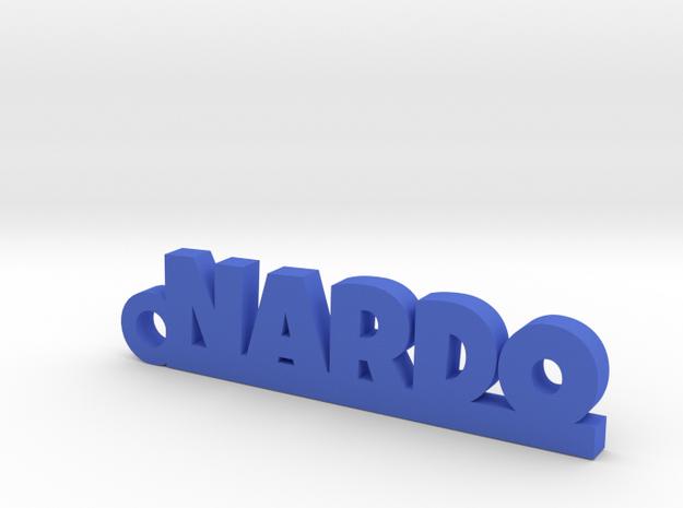 NARDO_keychain_Lucky in Blue Processed Versatile Plastic