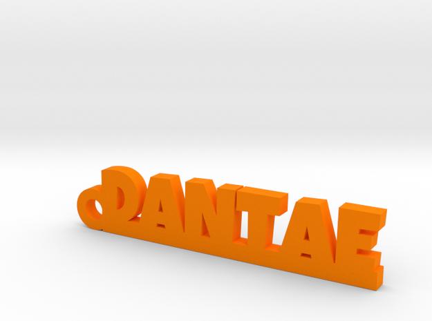 DANTAE_keychain_Lucky in Orange Processed Versatile Plastic