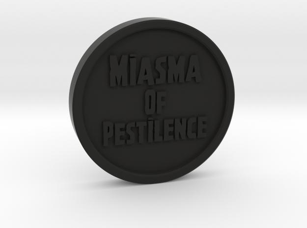 Death Guard - Miasma of Pestilence Token in Black Strong & Flexible
