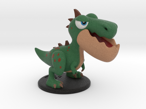 Dinopop Rex in Full Color Sandstone