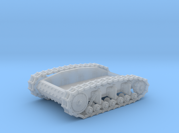 T-18 Running Gear Box in Smooth Fine Detail Plastic