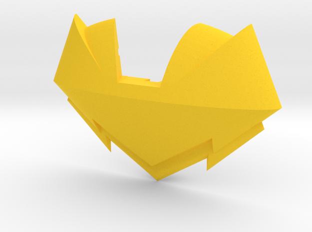 MTMTE Rodimus chest (Part 2 of 2) in Yellow Processed Versatile Plastic