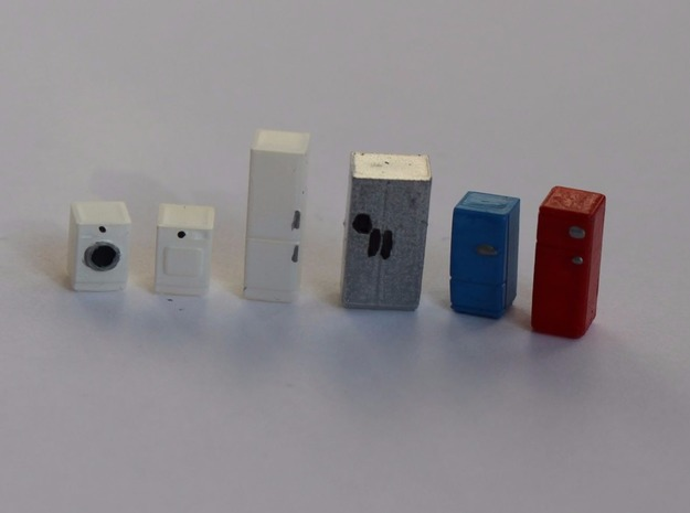 N Scale Household Appliances