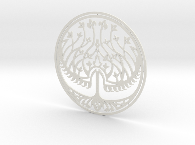 200mm Seal of Bethmoora (HellBoy 2) in White Natural Versatile Plastic