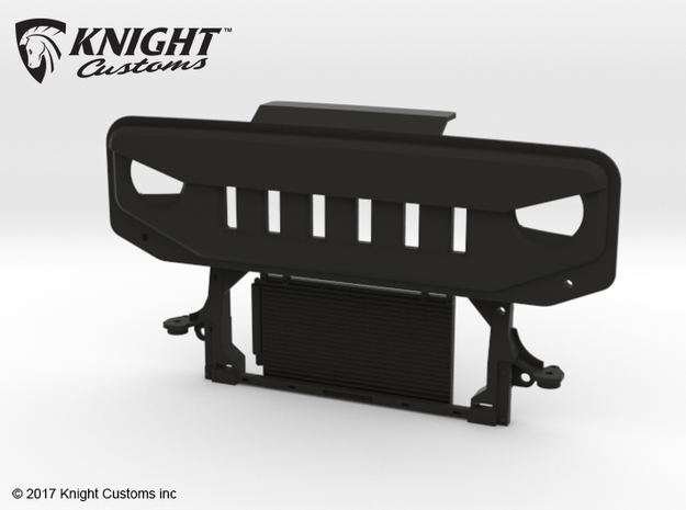 FC10007 FC ANGRY Grill in Black Natural Versatile Plastic
