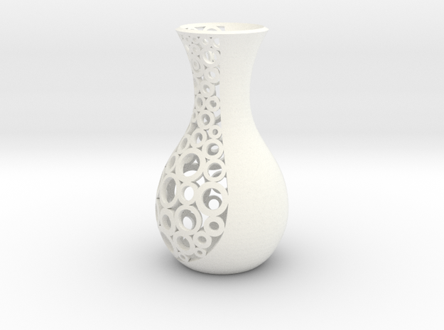 small open patterned vase 1