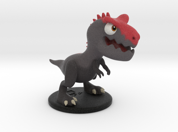 Dinopop Carnotaurus in Full Color Sandstone