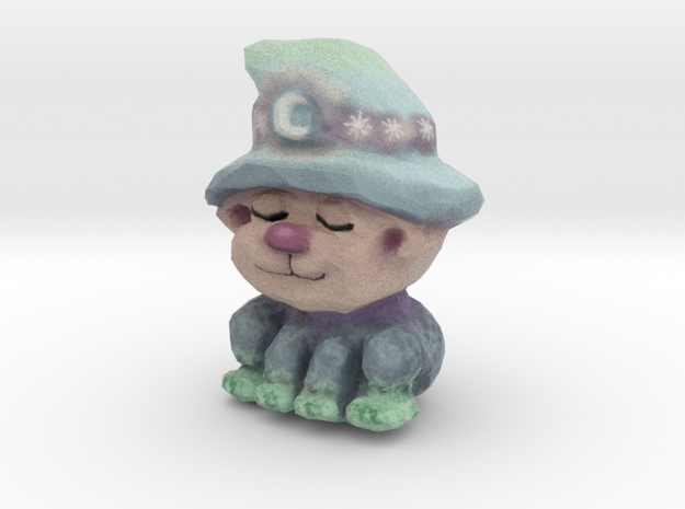 Emma - the Moon Kitty in Full Color Sandstone