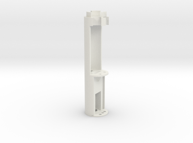 Sidious Saber Chassis - Prizm 5.1 with switch hold in White Natural Versatile Plastic