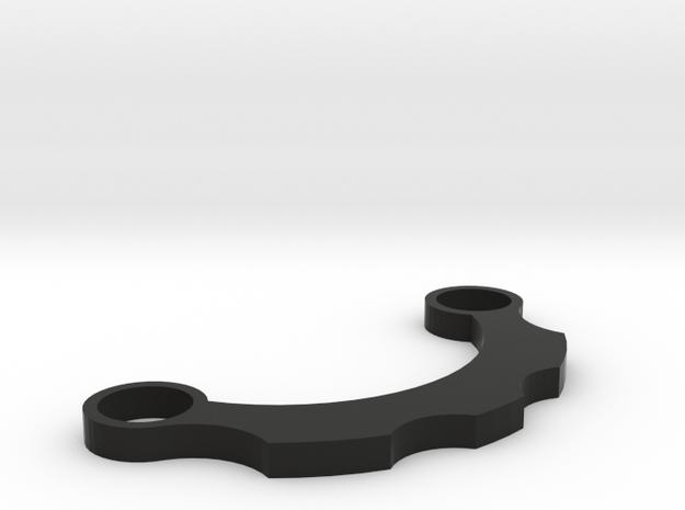 Radiator Fin - Graflex Chassis in Black Natural Versatile Plastic