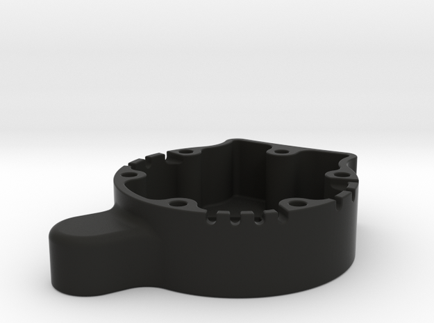 LeoBodnar Circuit Mount 30mm Deep in Black Natural Versatile Plastic