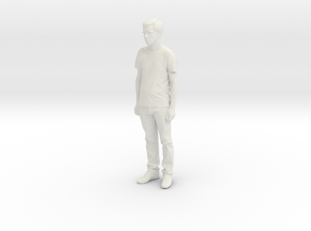Printle C Homme 105 - 1/20 - wob in White Natural Versatile Plastic