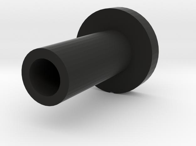 Kill key style 2 - 2.5mm plug in Black Natural Versatile Plastic