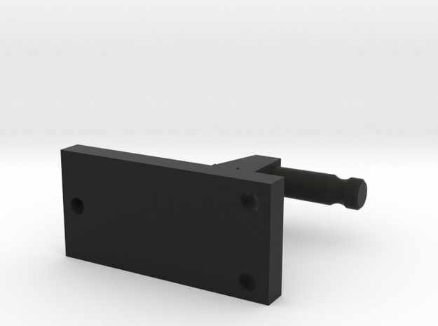 Pole Mount For Prisms in Black Strong & Flexible