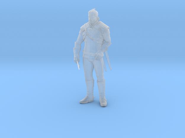 Witcher Geralt miniature high detail pose 1/3
