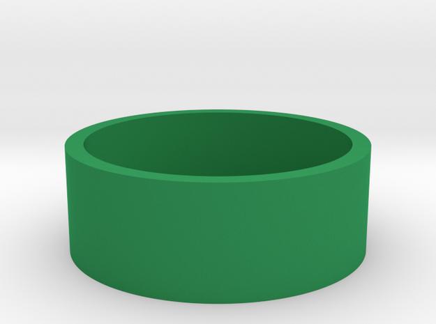 Okito Box British 2 Pound (£2) in Green Processed Versatile Plastic