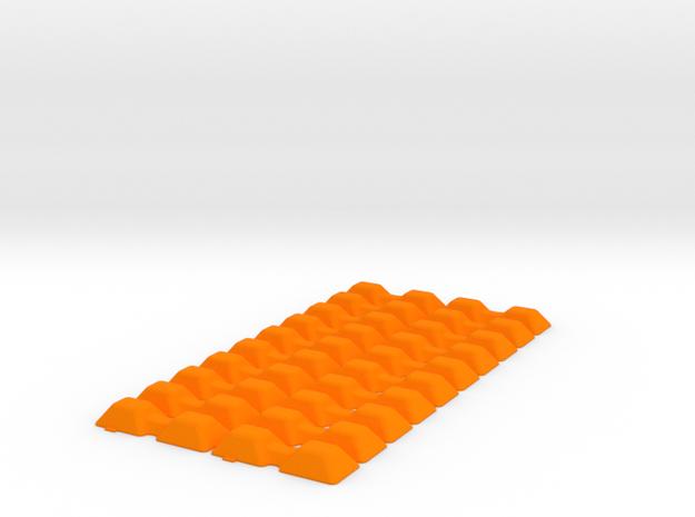 PIG IRON DOG BONE Smooth x20 in Orange Processed Versatile Plastic